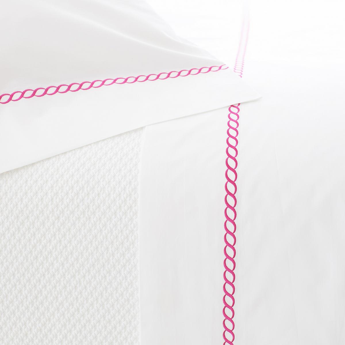 Helix Fuchsia Pillowcases (Pair)