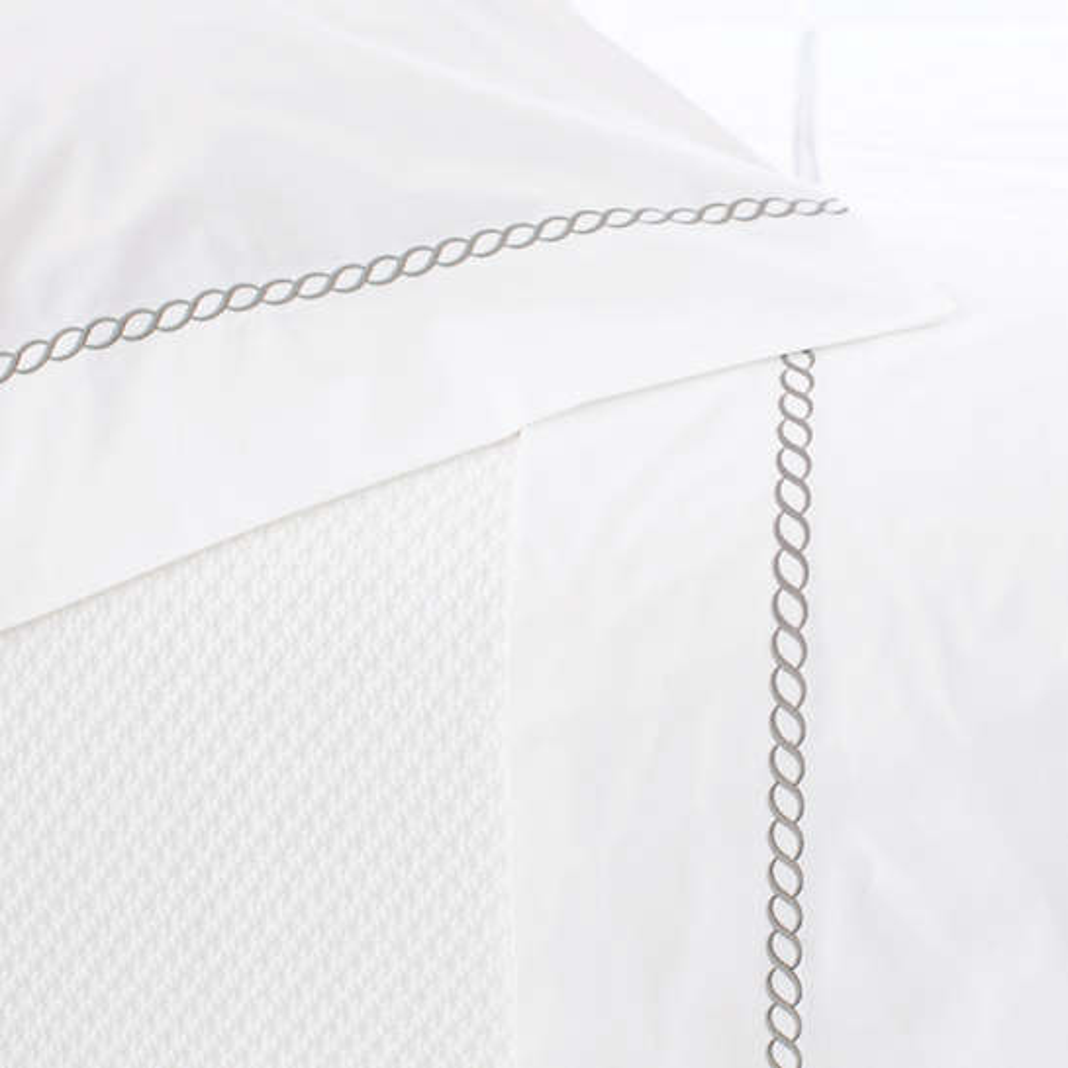 Helix Pearl Grey Flat Sheet