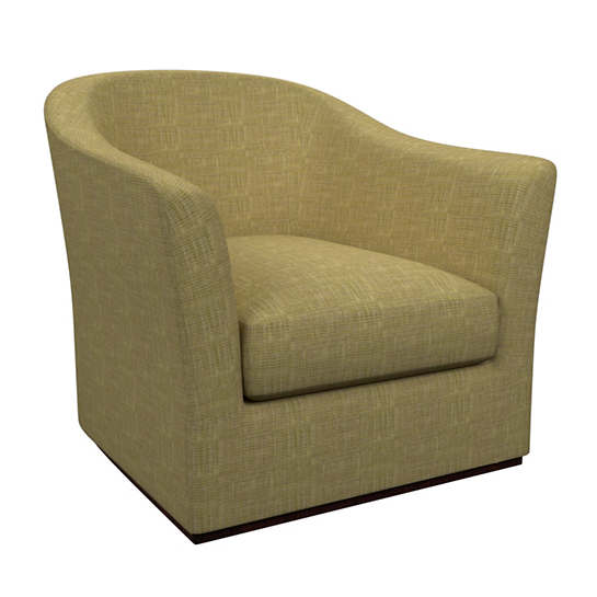 Heritage Chartreuse Thunderbird Swivel Chair
