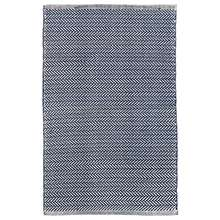 Herringbone Navy/Ivory Indoor/Outdoor Rug
