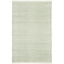 Herringbone Ocean Woven Cotton Rug