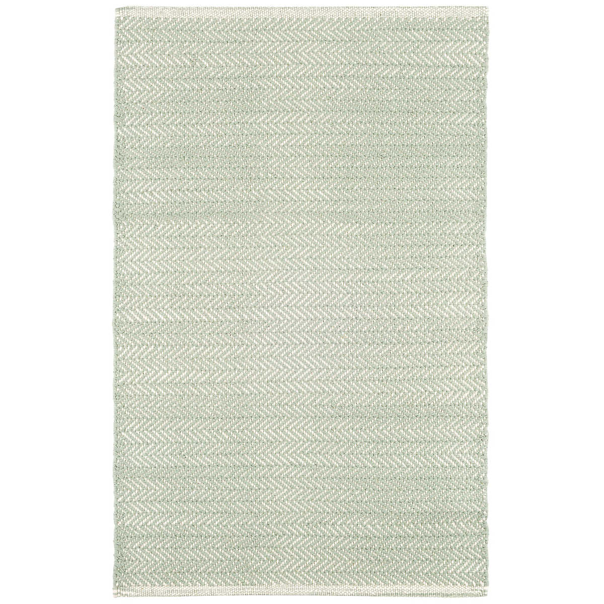 Herringbone Ocean Woven Cotton Rug Dash Amp Albert