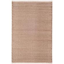 Herringbone Stone Woven Cotton Rug