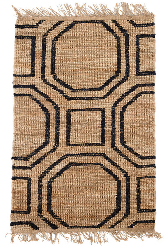 Hexile Hand Knotted Jute Rug Dash Amp Albert