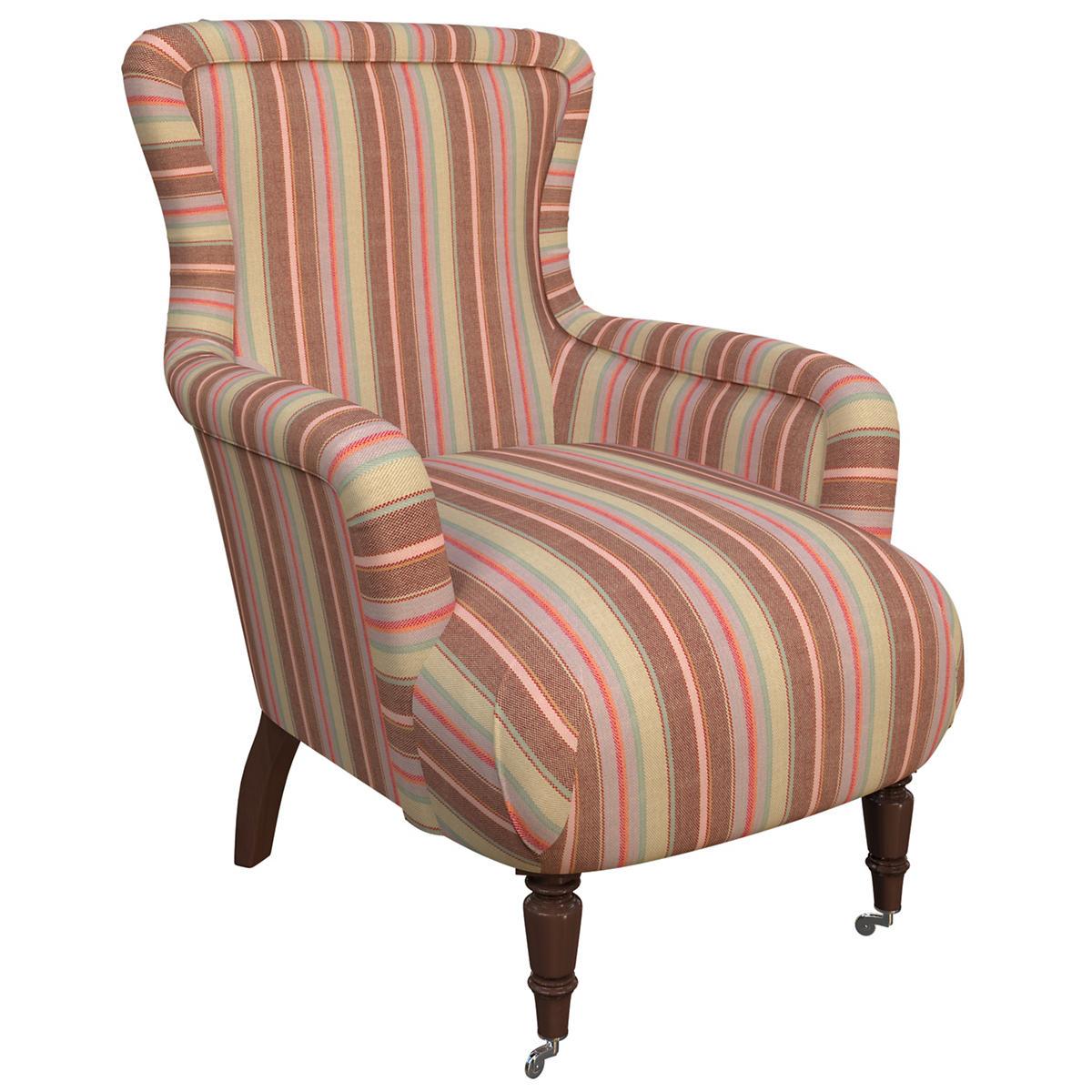Highclere Stripe Charleston Chair