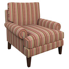 Highclere Stripe Easton Chair