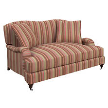 Highclere Stripe Litchfield Loveseat
