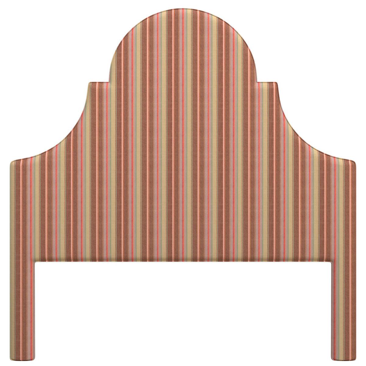 Highclere Stripe Montaigne Headboard