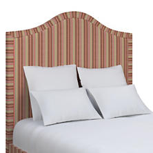 Highclere Stripe Westport Headboard
