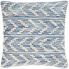 Hobnail Herringbone Indoor/Outdoor Decorative Pillow