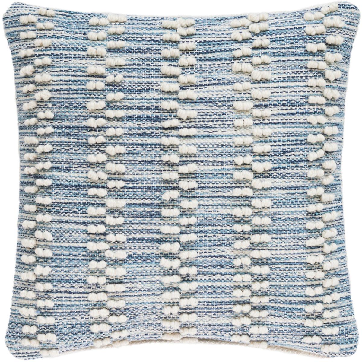 Hobnail Stripe Indoor/Outdoor Decorative Pillow