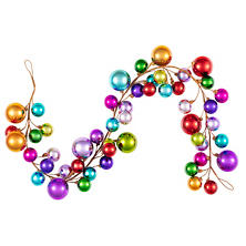 Bright Ball Garland