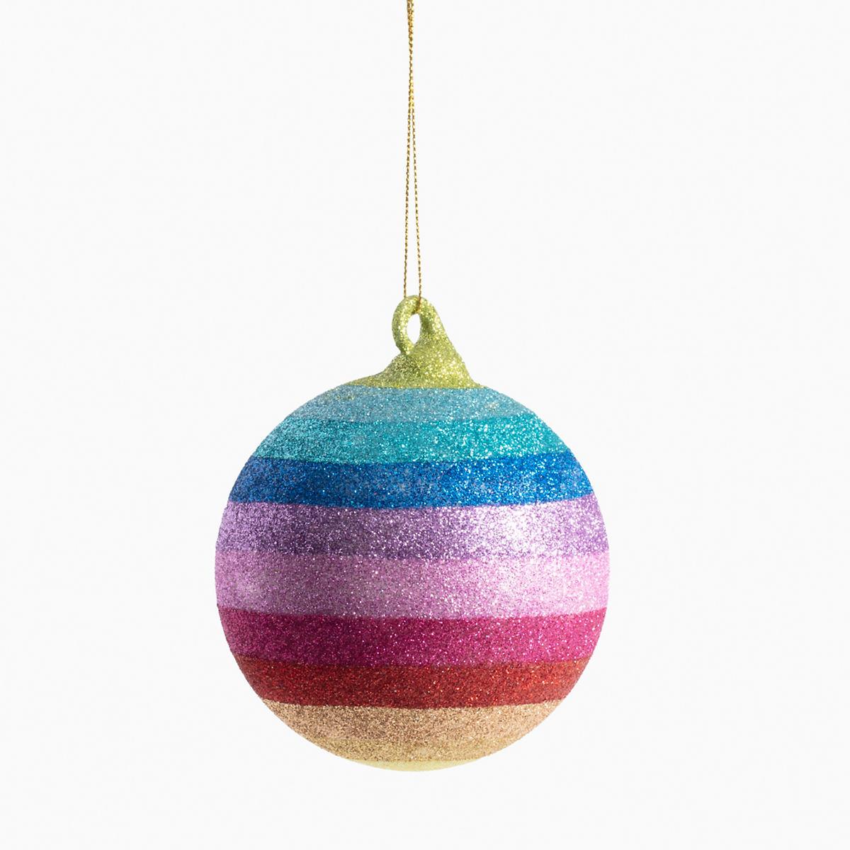 Rainbow Ball Ornament
