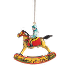Rocking Horse Collectible Tin Ornament
