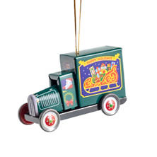 Truck Collectible Tin Ornament