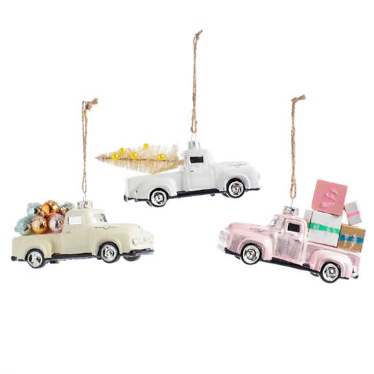 Countryside Truck Ornaments/Set Of 3
