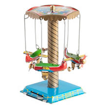 Airplane Carousel Collectible Tin Toy