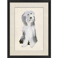Sheep Dog Wall Art