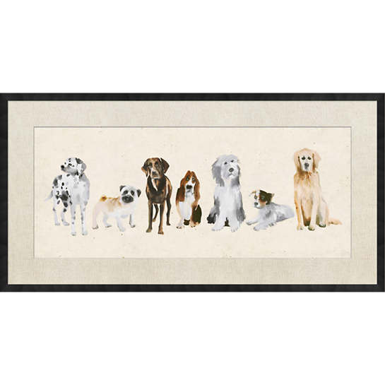 The Canine Committee Wall Art