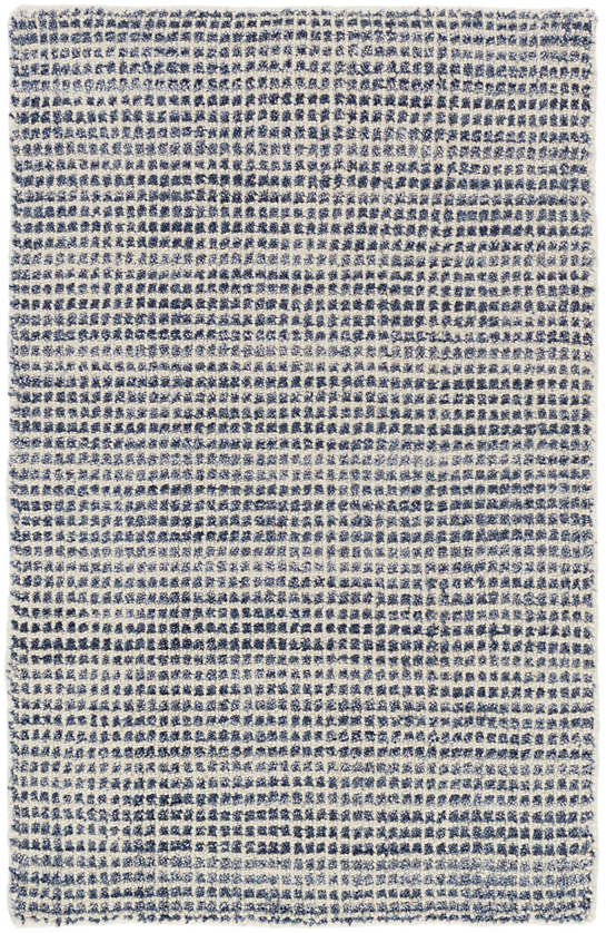 Homer Blue Loom Knotted Wool Viscose Rug Dash Amp Albert