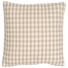 Houndstooth Platinum/Ivory Indoor/Outdoor Pillow