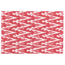 Ikat Woven Red Placemat