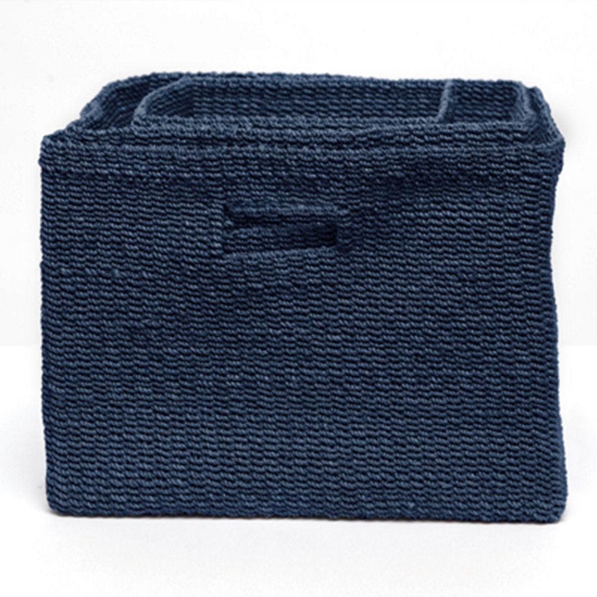 Indigo Blue Lindon Baskets/Set Of 3