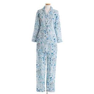 602155829 Ines Sateen Blue Pajama