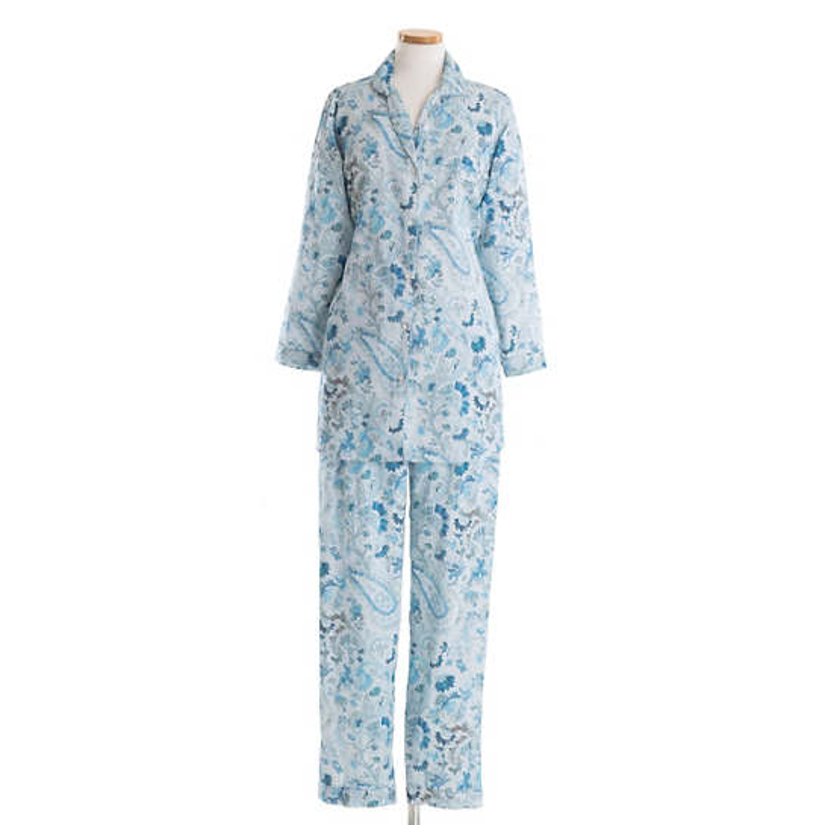 Ines Sateen Blue Pajama