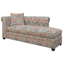 Ines Linen Grey Richmond Right Facing Chaise