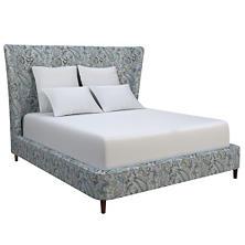Ines Linen Blue Boulevard Bed