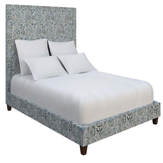 Ines Linen Blue Stonington Bed