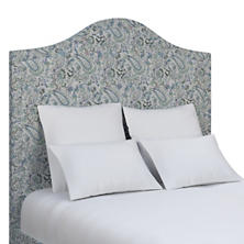 Ines Linen Blue Westport Headboard