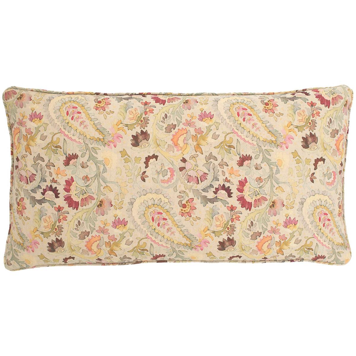 Ines Linen Decorative Pillow Pine Cone Hill