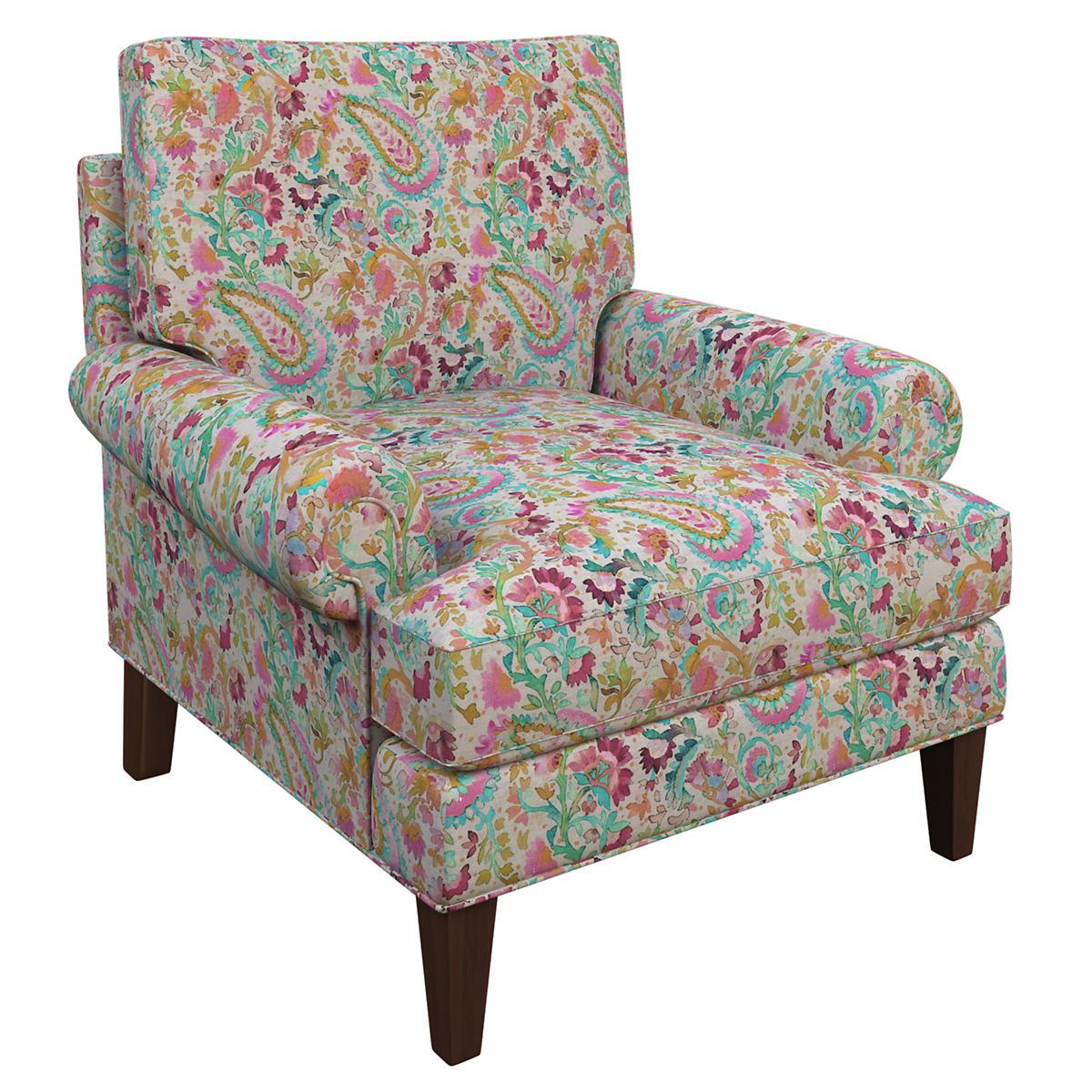Ines Linen Grey Easton Chair