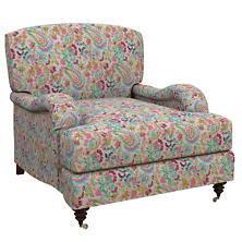 Ines Linen Grey Litchfield Chair