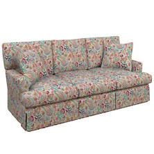 Ines Linen Grey Saybrook 3 Seater Sofa