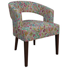 Ines Linen Grey Wright Chair