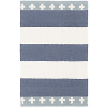 Inspired Stripe Woven Cotton Rug