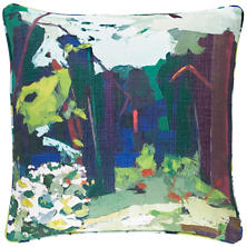 Into The Woods Indoor/Outdoor Decorative Pillow