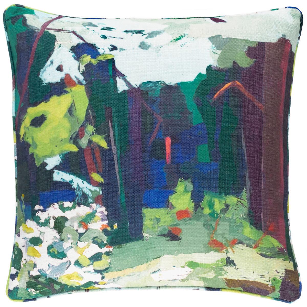 Into The Woods Indoor/Outdoor Decorative Pillow