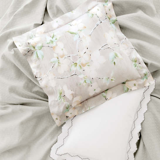 Isabella White/Zinc Pillowsham