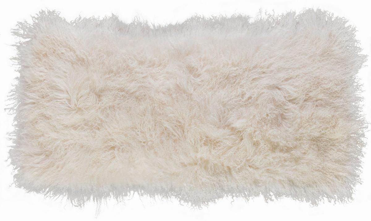 Ivory Mongolian Sheepskin