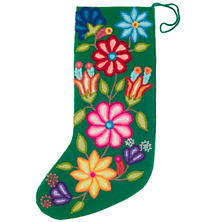 Ivy Embroidered  Stocking