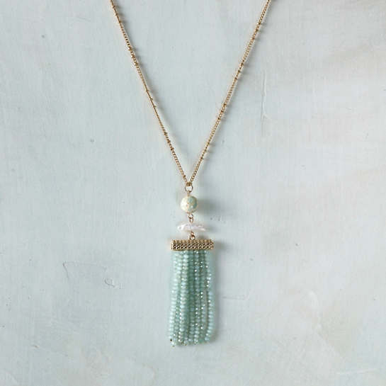 Dixie Aqua Necklace