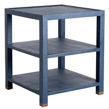 Jarin Navy Side Table