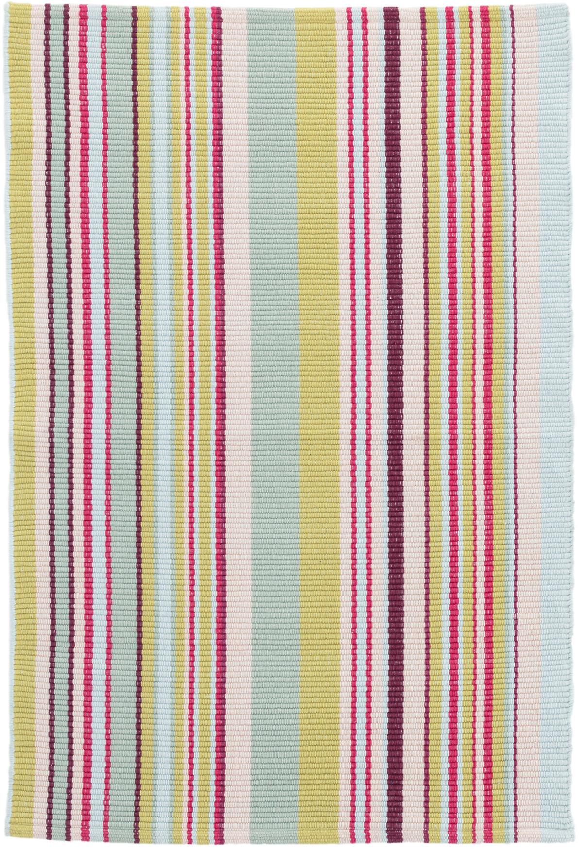 Joelle Stripe Woven Cotton Rug
