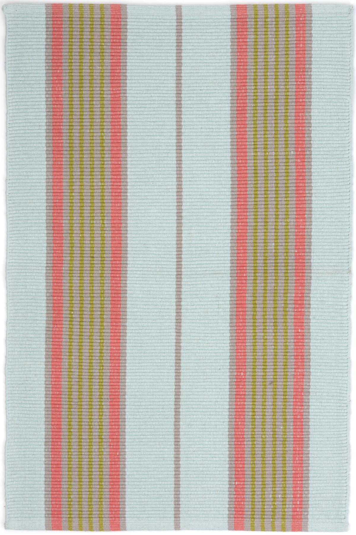 Josie Ticking Woven Cotton Rug