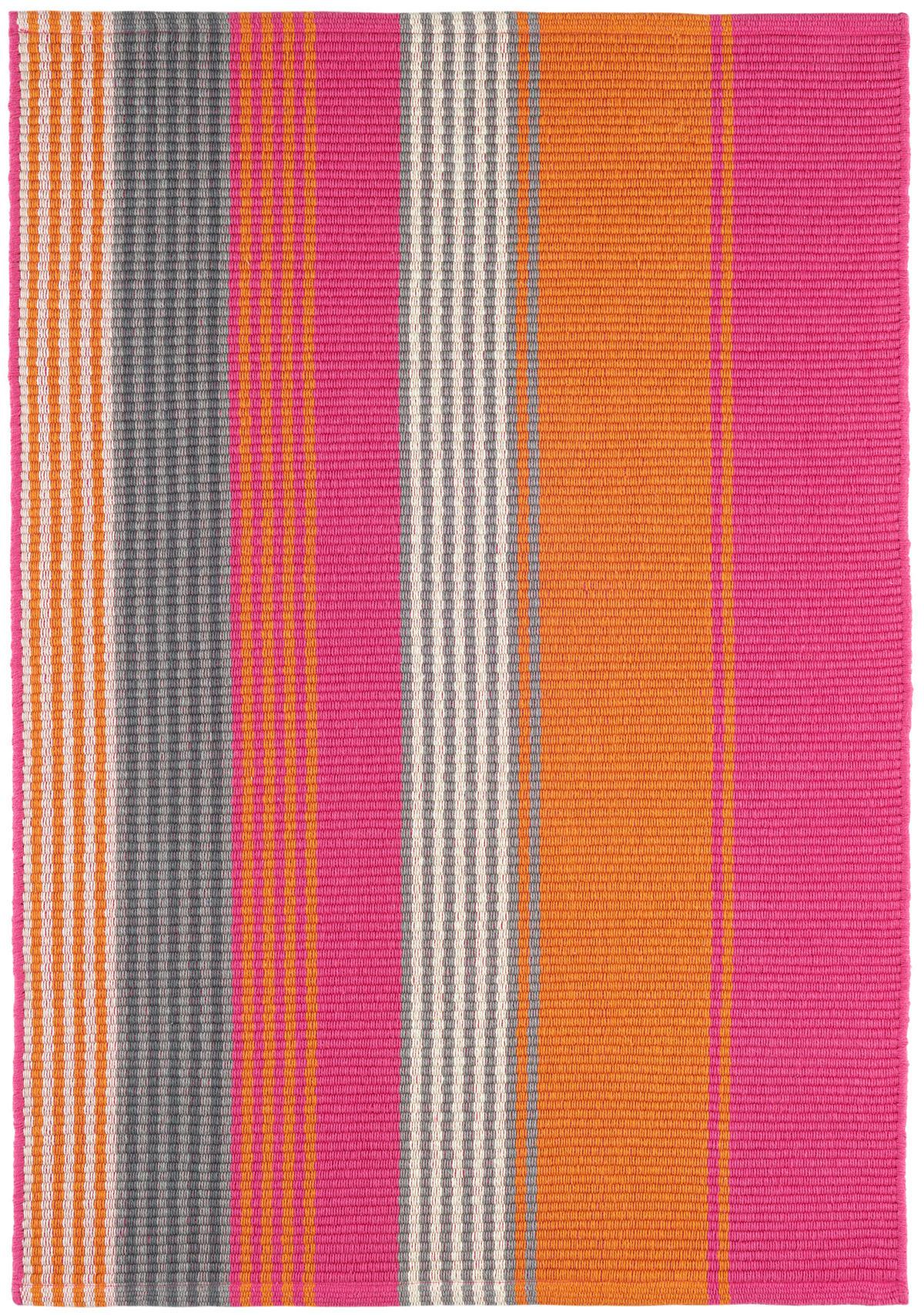Juliana Stripe  Woven Cotton Rug