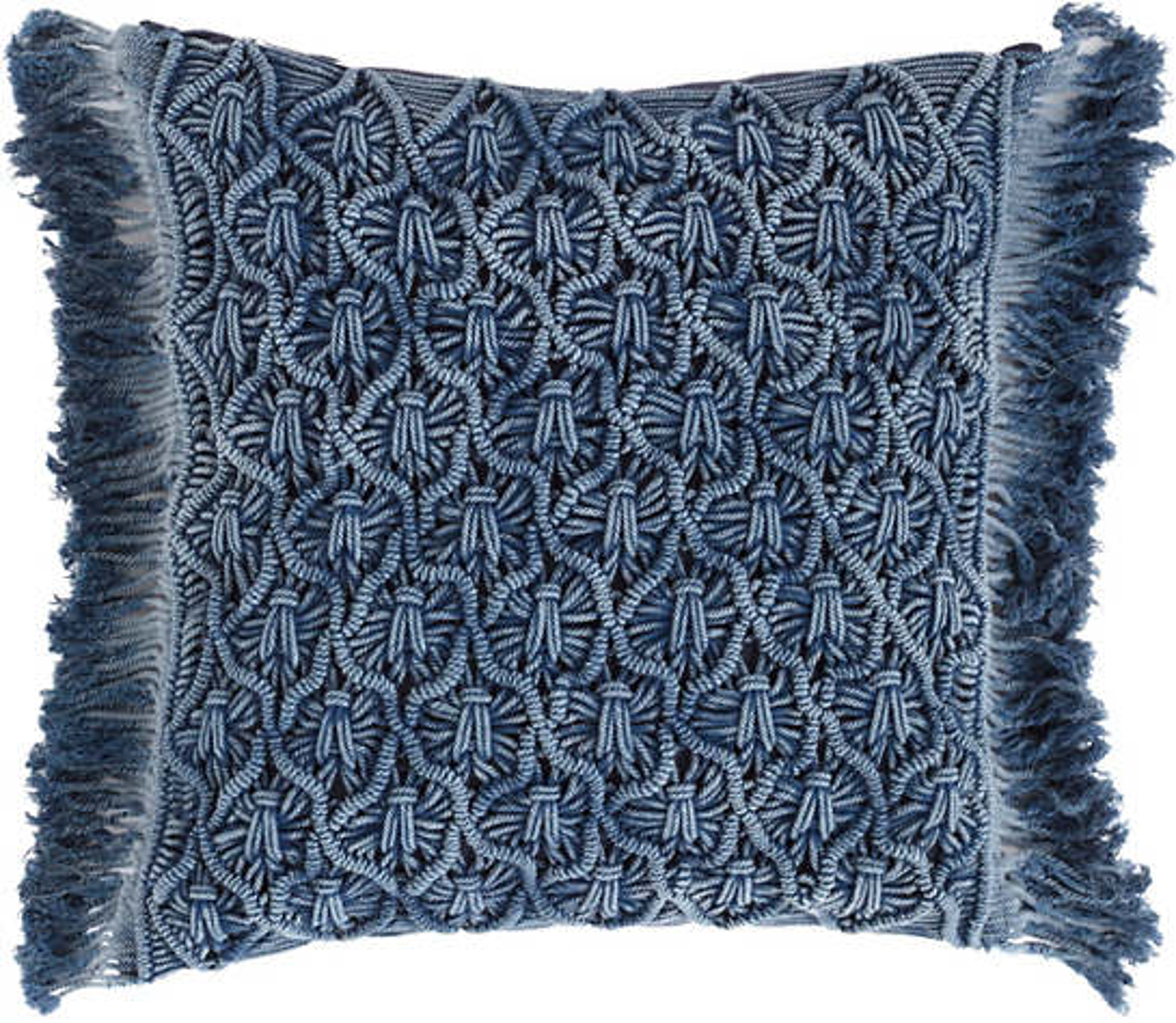 Juno Macrame Decorative Pillow
